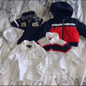Boys Tommy Hilfiger lot